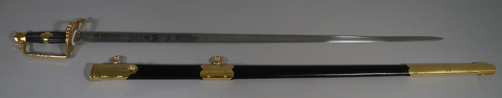 British Infantry Officer's Sword