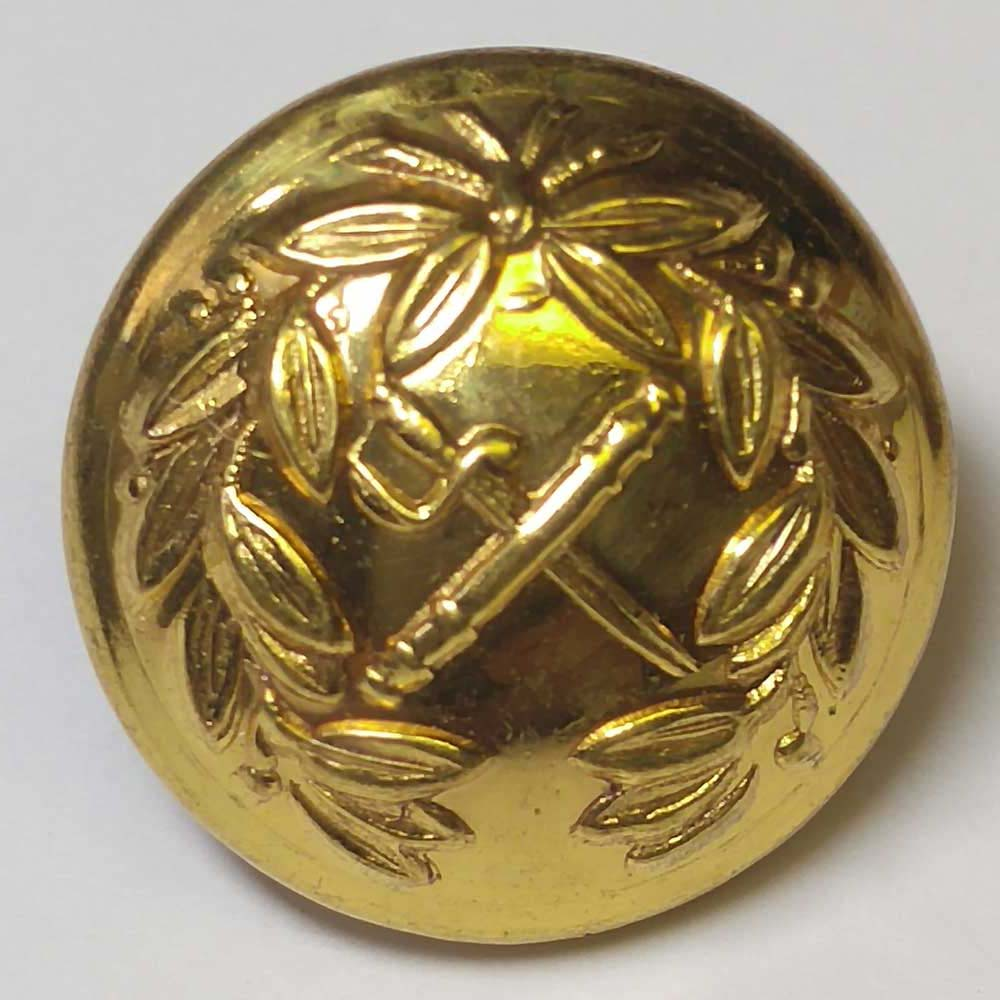 "Military, Gold, (16mm, 10/16"")"