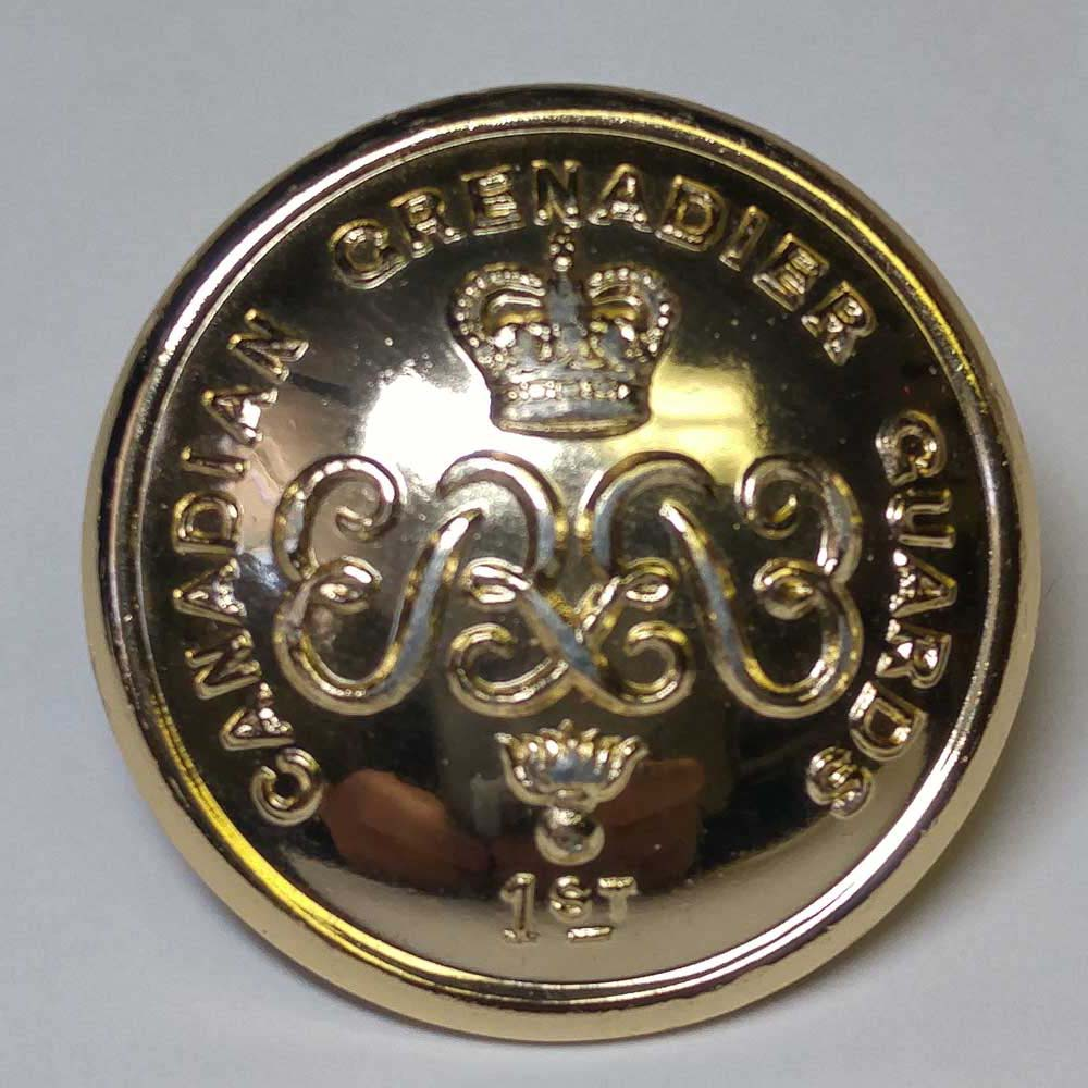 "Canadian Grenadier Guards, Gold, (25mm, 1"")"