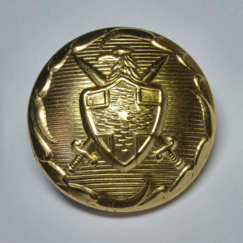 "Military, Gold, (22mm, 14/16"")"