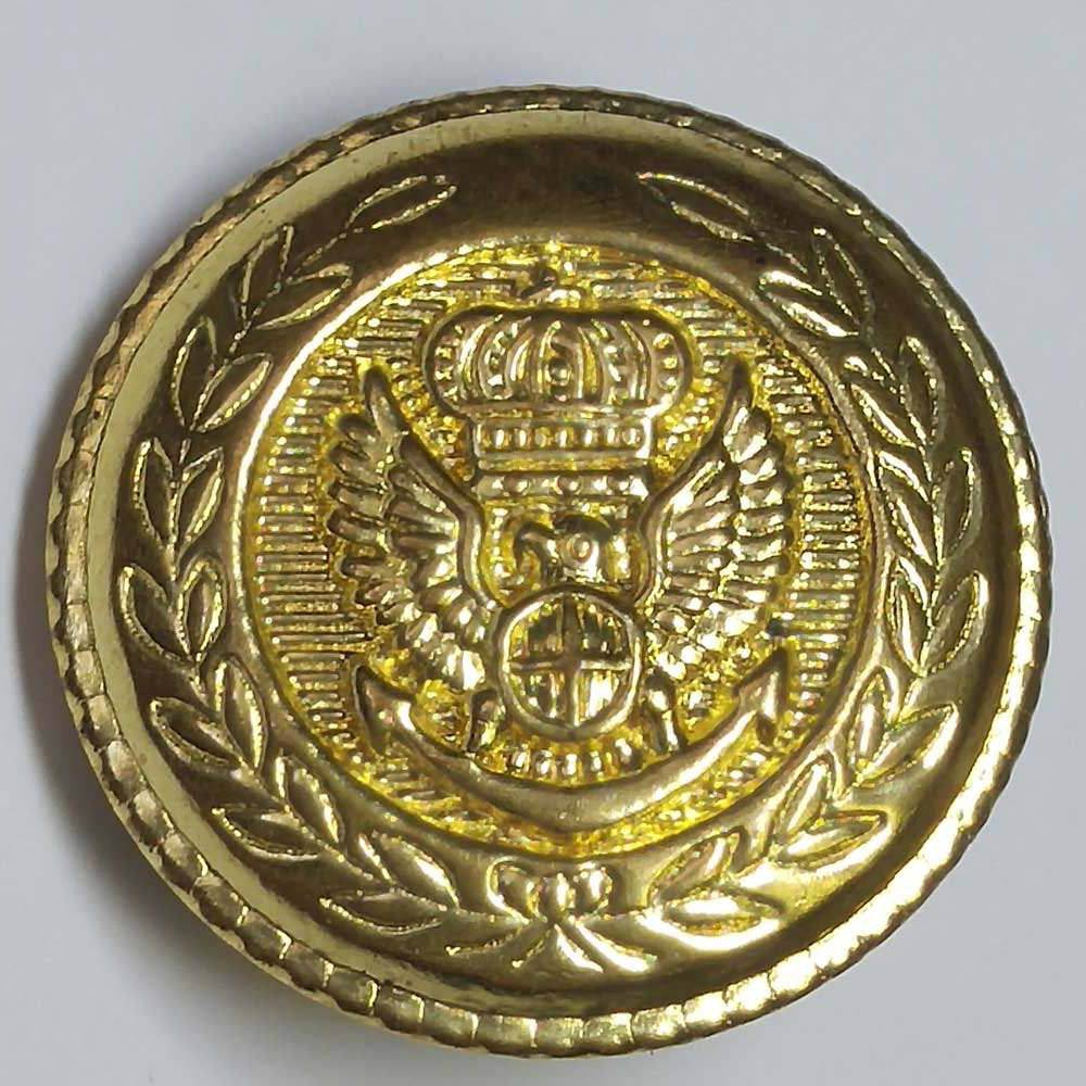 "Military, Gold, (19mm, 3/4"")"