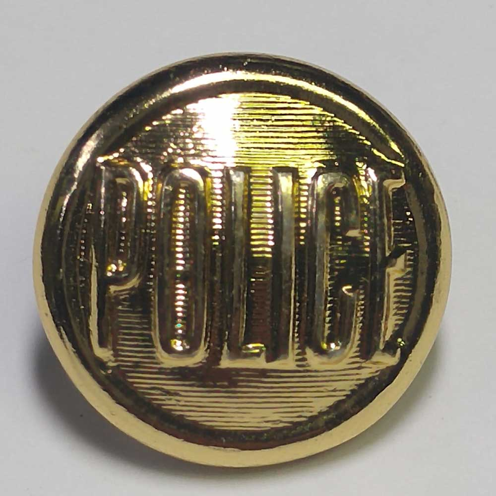 Police, Gold, 11/16""