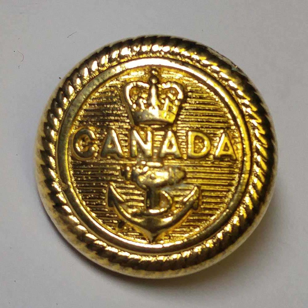 "Canada, Naval, Gold (19mm, 10/16"")"