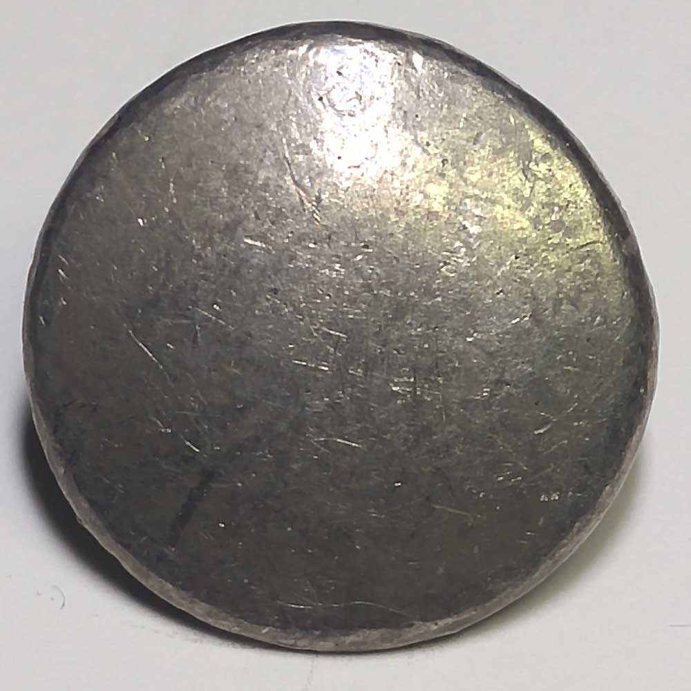 Plain, Flat, Pewter, 7/8""