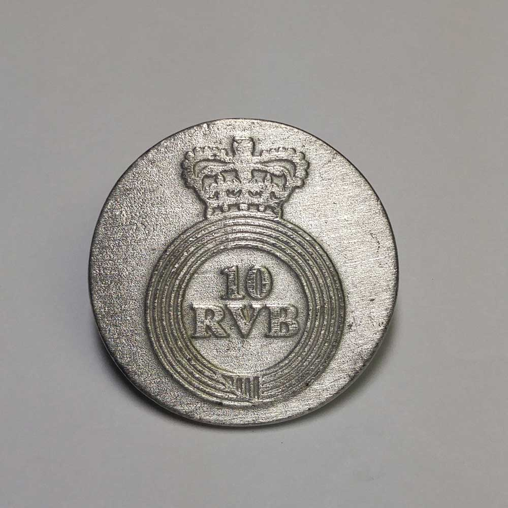 10th Royal Veterans Battalion, Pewter