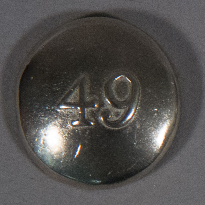 Button: 49th Regiment - Click Image to Close
