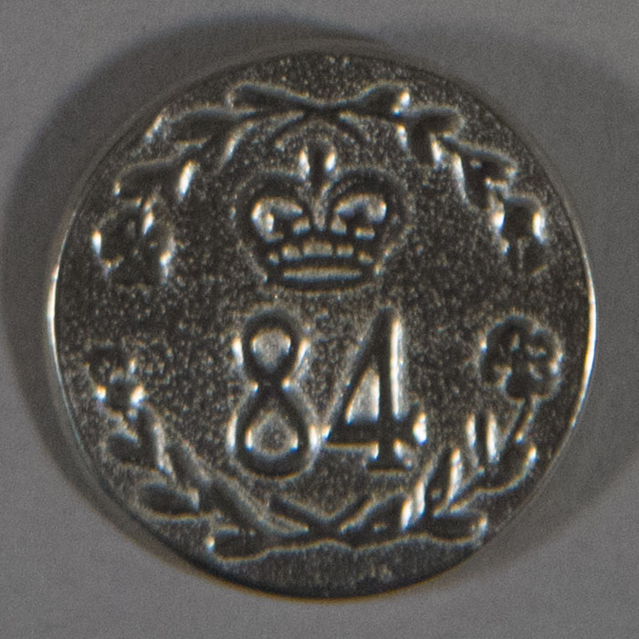 84th Regiment, Pewter