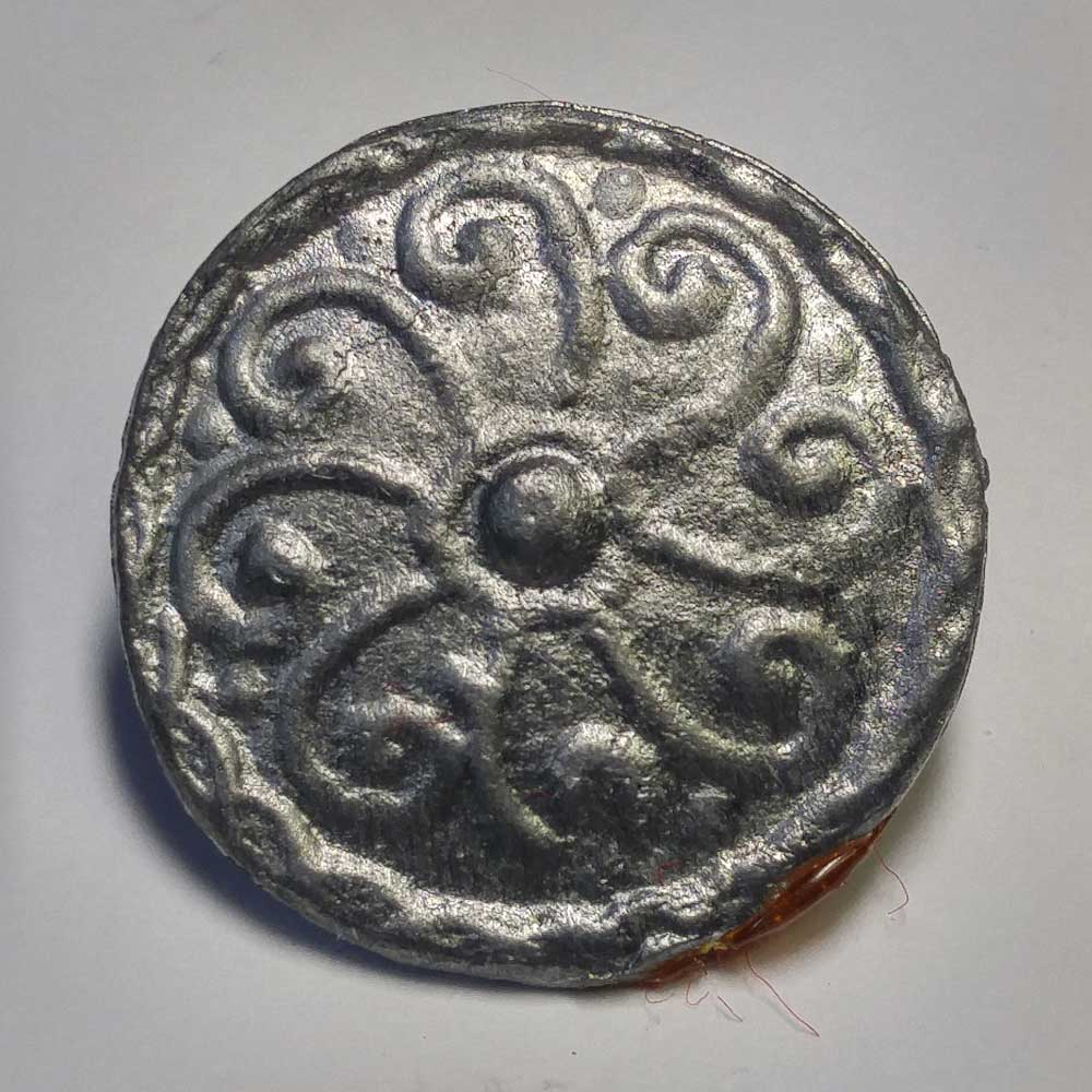 Celtic Pattern #4, Pewter, 7/8""