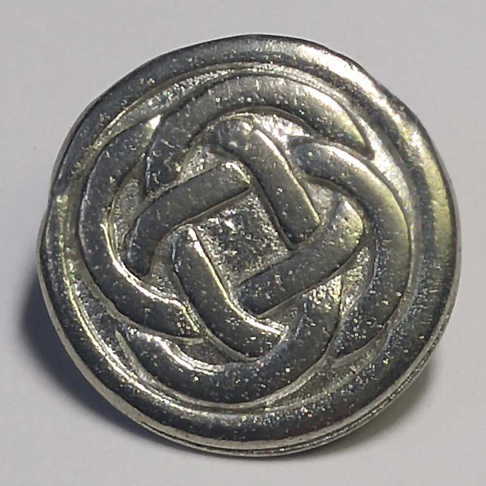 Celtic Pattern #5, Pewter, 5/8""