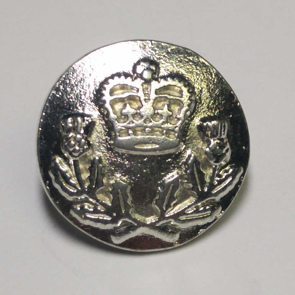 Glengarry Light Infantry, Silver, 5/8""