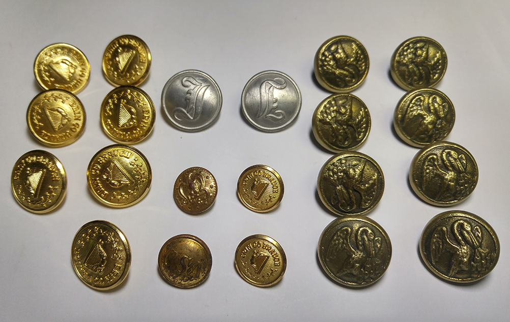 US Civil War Button Set