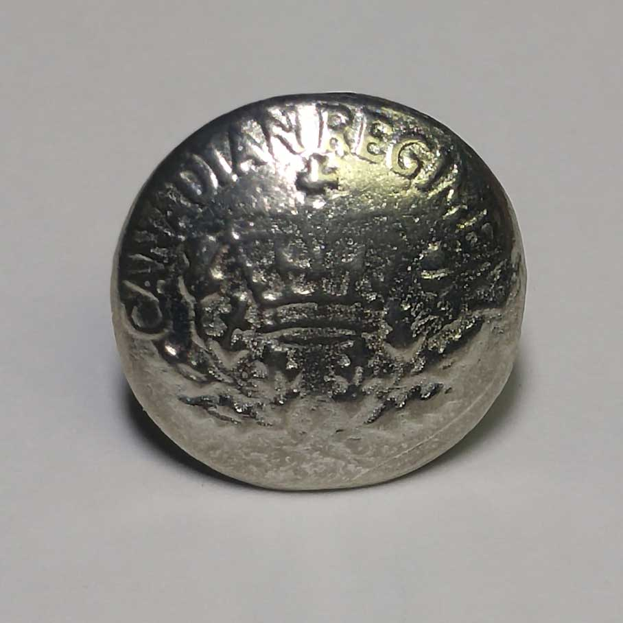Canadian Regiment, Pewter