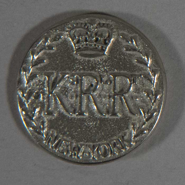 Kings Royal Regiment, Pewter, 10/16""