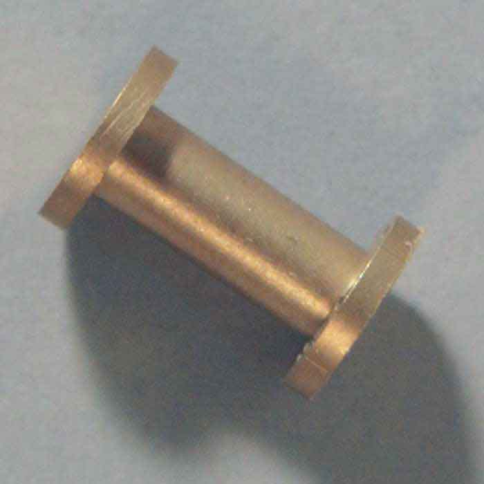 "Button Post, Brass, Screw Top, 25mm (1"")"