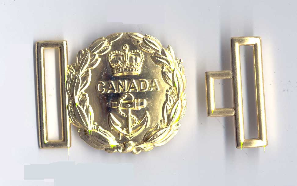 Buckle: Naval Swordbelt Buckle