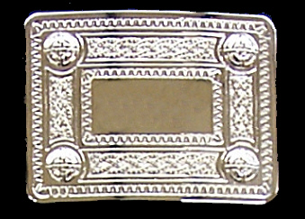 Buckle: Celtic Knotwork, 2-1/4""