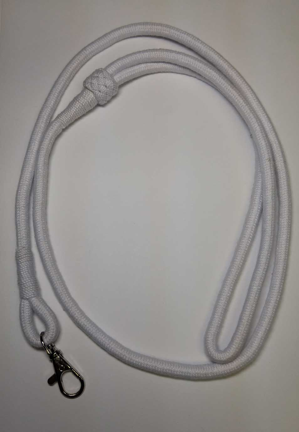 Lanyard: White, Whistle Cord