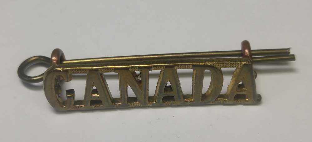 Badge: Canada, Single