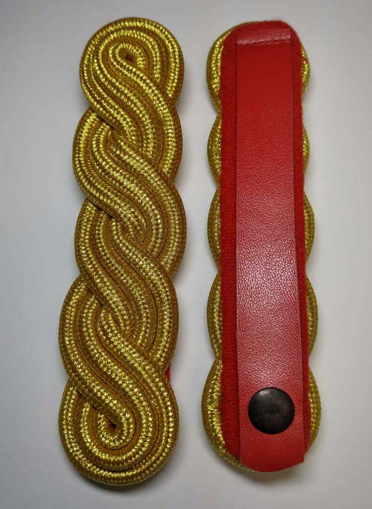 "Shoulder Twist, Gold, CAF, Red, 150mm (5-7/8"")"