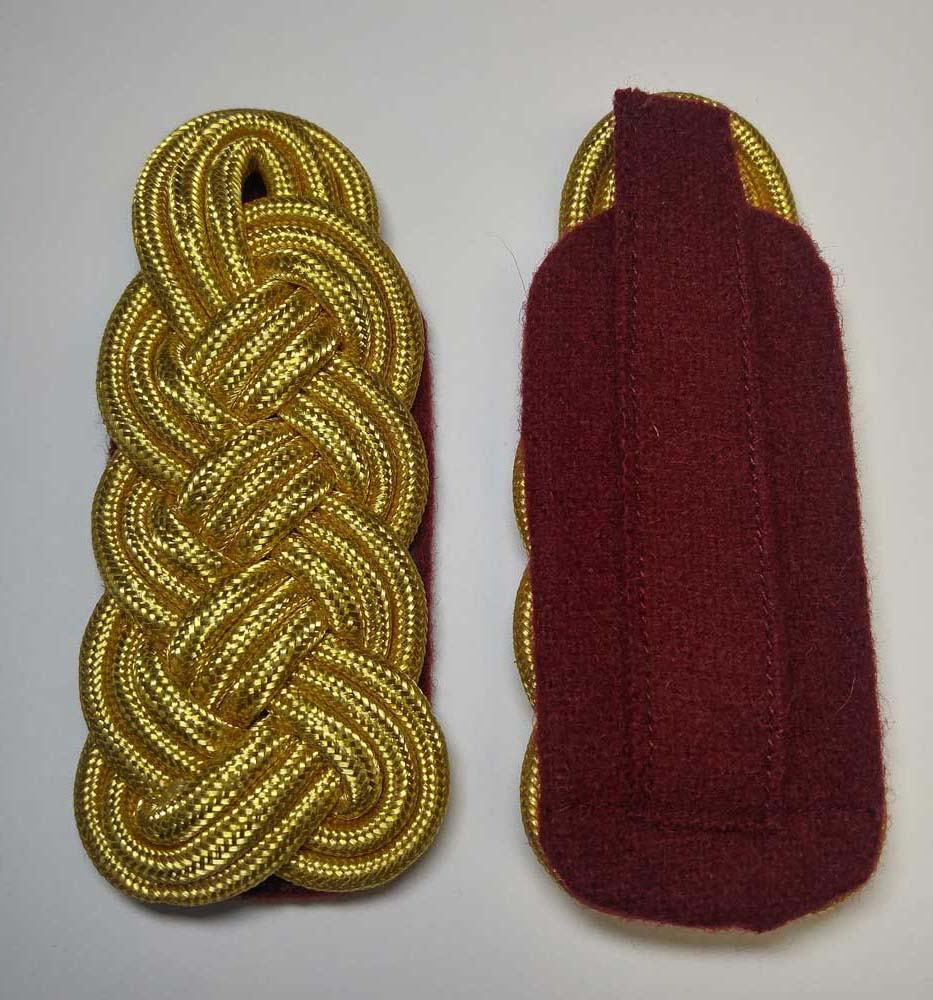 "Shoulder Twist, Gold, 108mm (4-1/4"")"