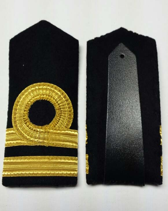 "Shoulder Board (hard), Navy Lieutenant, 152mm (6"")"