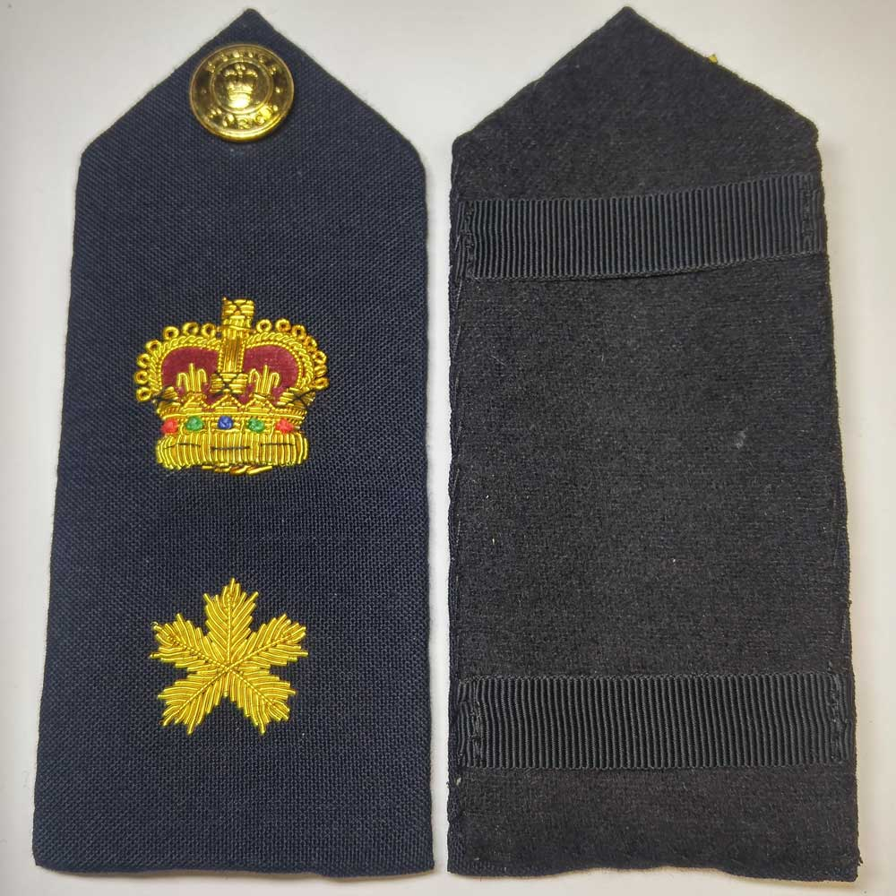 Shoulder Board, Police, Staff Superintendent, (Hard), 5.5""
