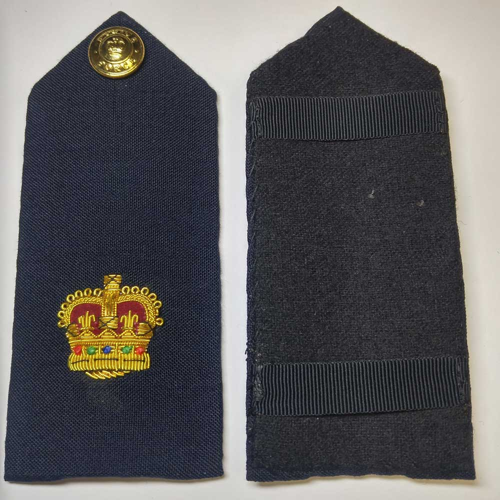 Shoulder Board, Navy, Superintendent, (Hard), 5.5""