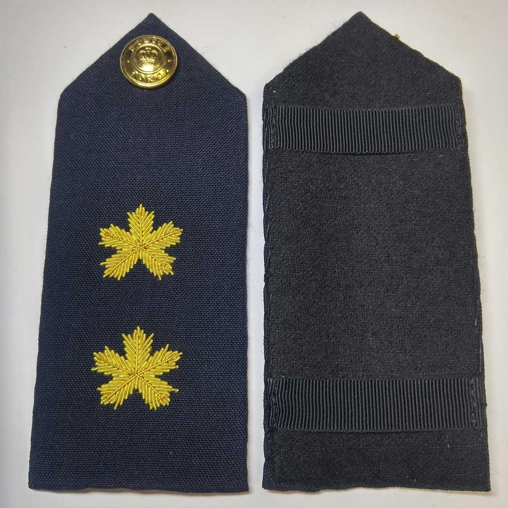Shoulder Board, Police, Inspector, (Hard), 5.5""