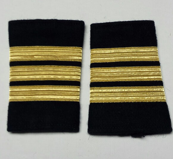 "Shoulder Board (soft), Commander, 95mm (3-3/4"")"