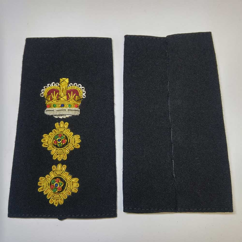 Shoulder Board, Police, Deputy Chief, (Soft), 4-1/4 ""