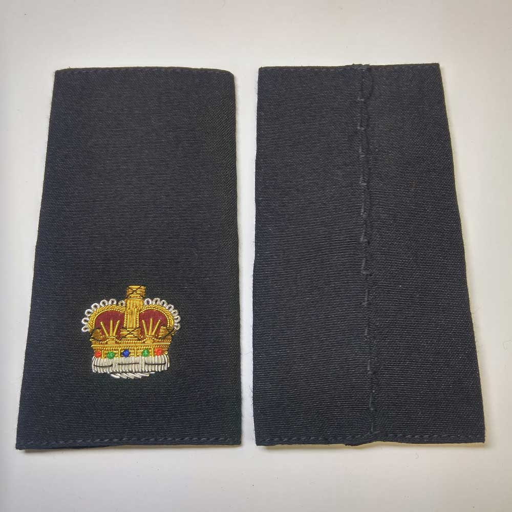 Shoulder Board, Police, Superintendent, (Soft), 4-1/4""