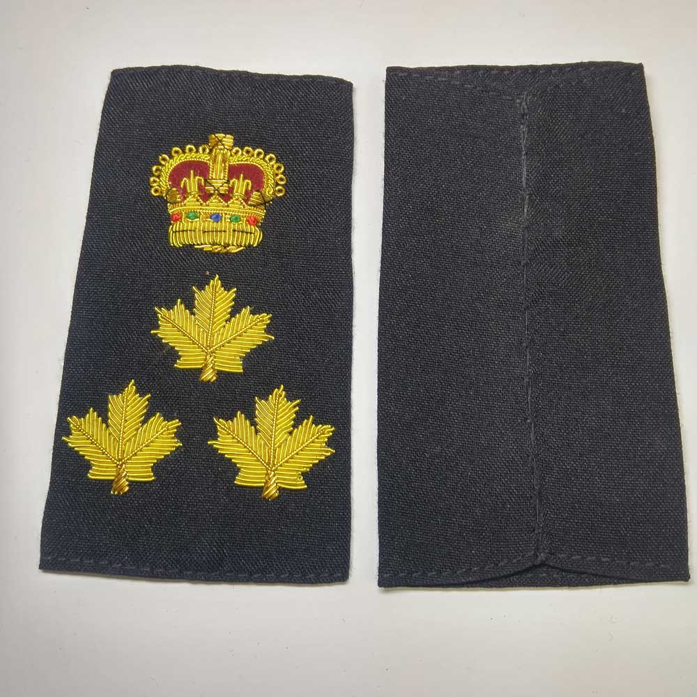 Shoulder Board, Police, Chief, (Soft), 4-1/4""