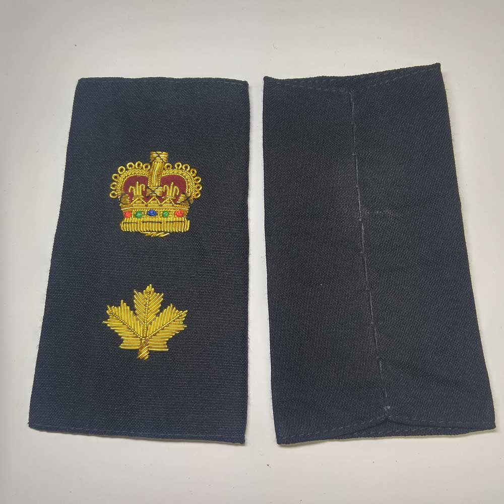 Shoulder Board, Police, Staff Superintendent, (Soft), 4-1/4""