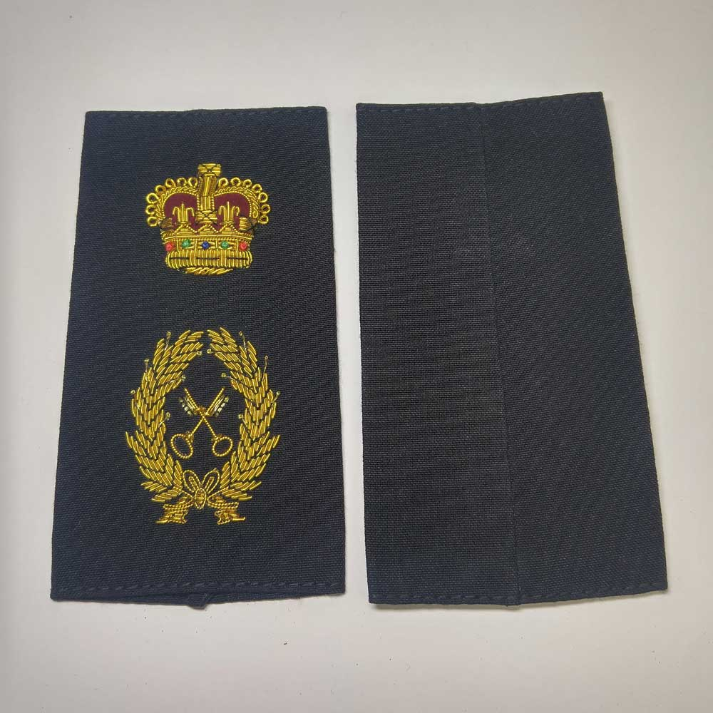 Shoulder Board,Supply Tech, Crown, (Soft), 4-1/4""