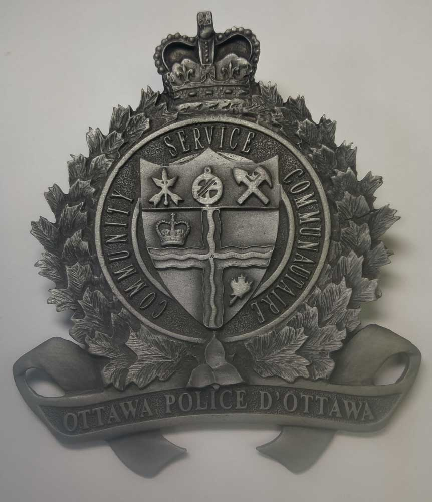 Plate: Ottawa Police - Click Image to Close