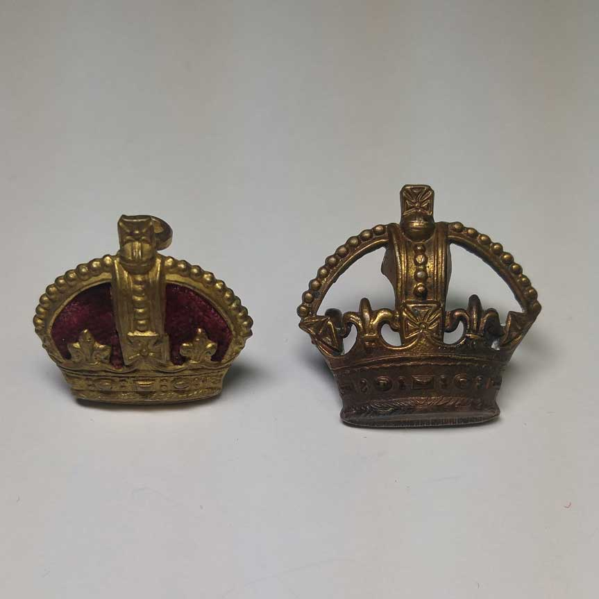 Crowns: Officers (Older Style)