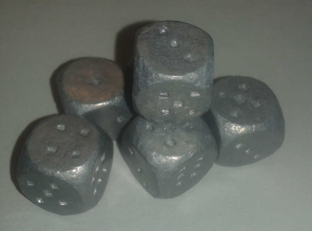 Musket Ball Dice
