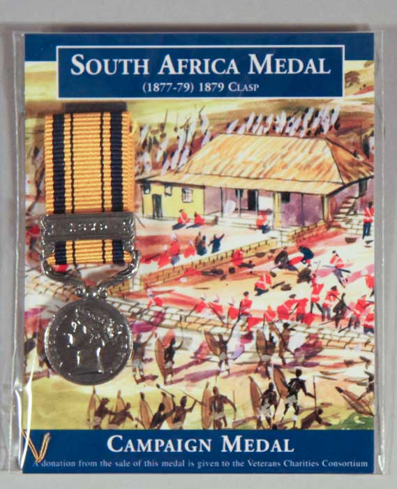 Medal: South Africa - Zulu